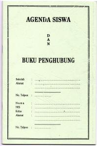 Agenda siswa & Buku Penghubung